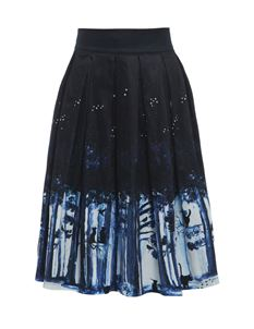 Lindy Bop Marnie Midnight Cat Skirt