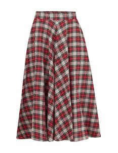 The Seamstress of Bloomsbury Isabelle Skirt - Tartan