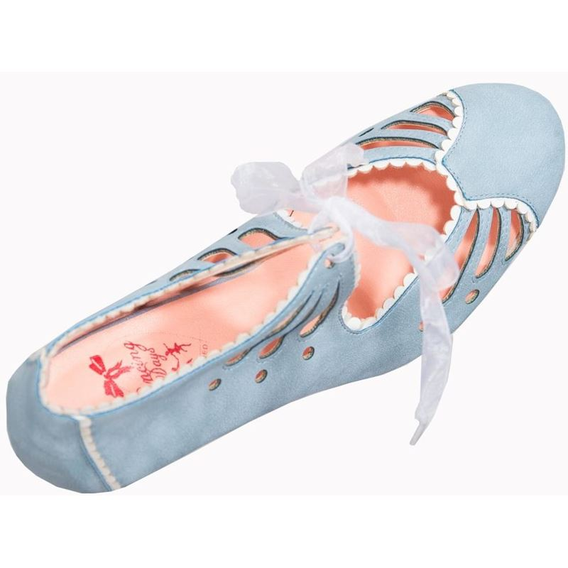 Dancing Days Light Blue Heels