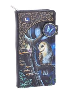 Lisa Parker Fairy Tales Owl Embossed Purse 18.5cm