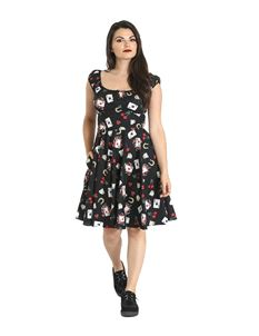 Hell Bunny Viva Las Vegas Gypsy Mid Dress