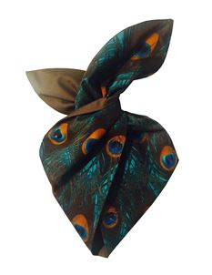 Be Bop a Hairbands Peacock Wired Hairband