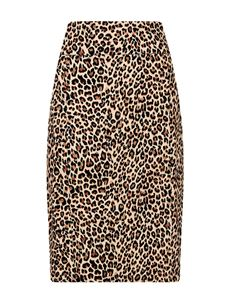 Friday On My Mind Classic Leopard Print Stretch Skirt