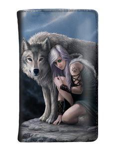Nemesis Now Protector Wolf Purse By Anne Stokes