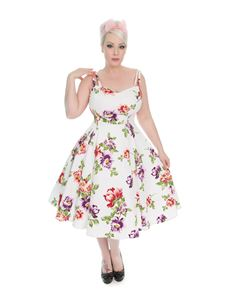 Hearts & Roses 1950's Striking Sundress