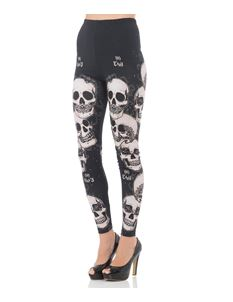 Voodoo Vixen Do No Evil Leggings