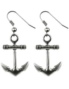 Joe Cool Anchor Drop Earrings