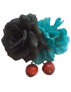 Gertie And The Seamstress Cherry and Rose Hair Flower
