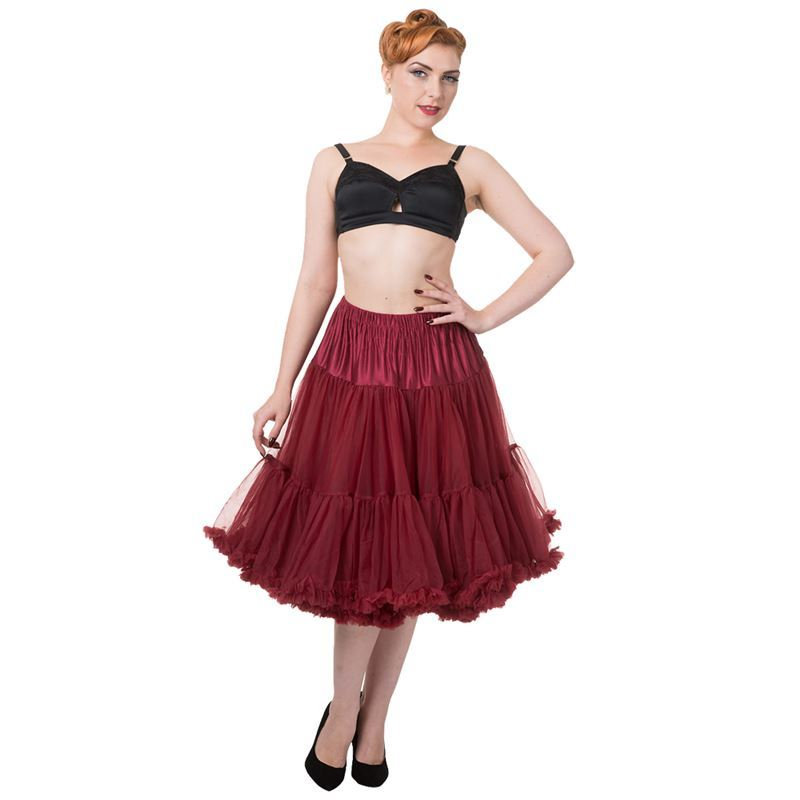 "Dancing Days 50s Lifeforms Style 25""-27"" Long Petticoat"
