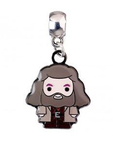 Harry Potter Hagrid Chibi Silver Plated Charm