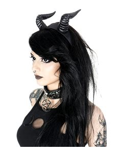 Restyle Beleth Horns Headband Gothic Headpiece