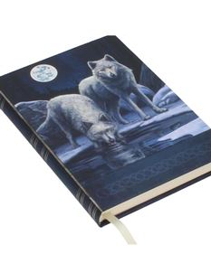 Lisa Parker Warriors of Winter Wolf Embossed Journal