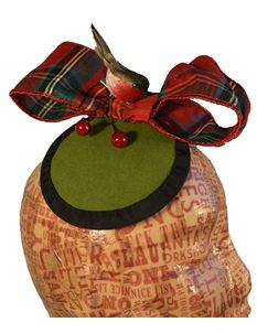 Doll's Mad Hattery Bob Bob Bobbing Robin - Christmas Cocktail Hat