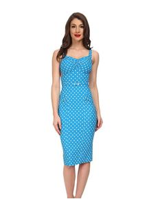 Stop Staring Turquoise McKenzie Dress