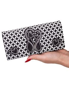 Dancing Days-Banned 50s Black & White Godiva Wallet