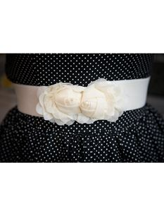 Silly Old Sea Dog Cream Flower Belt
