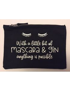 Gertie and The Seamstress Mascara and Gin Make Up Bag