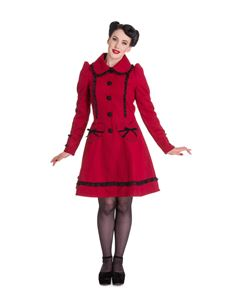 Hell Bunny Courtney Coat Plus Size