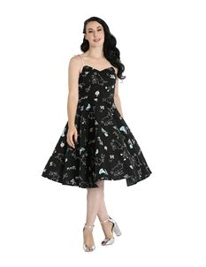 Hell Bunny Binky Bunny 50s Rockabilly Dress