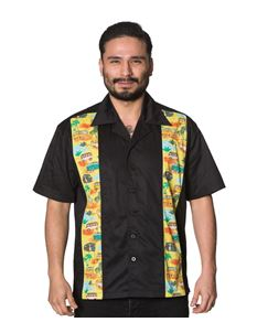 Dancing Days Mens Black Starlight Shirt