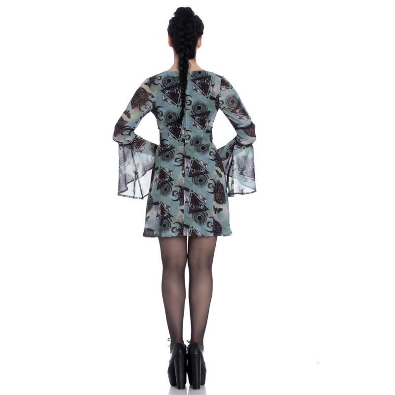 Spin Doctor After Death Alternative Chiffon Mini Dress