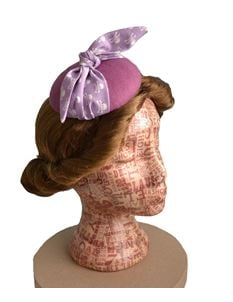 Doll's Mad Hattery Polly Pirate - Cocktail Hat