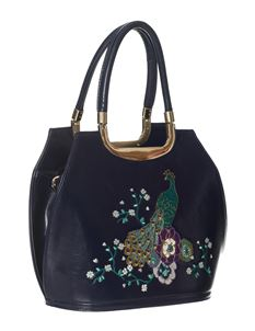Dancing Days Mayuree Peacock Handbag