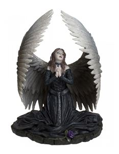 Anne Stokes Prayer For the Fallen Gothic Angel Figurine
