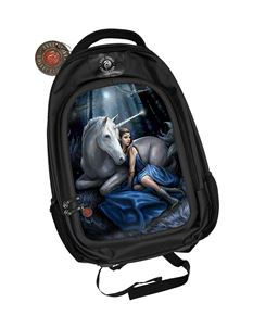 Anne Stokes 3D Blue Moon Unicorn Alternative Back Pack
