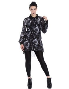 Spin Doctor Ash Crow Alternative Long Sleeve Blouse