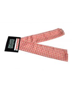 Collectif 50s Style Pink Gingham Sash Scarf