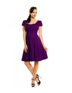 Dolly & Dotty Claudia Purple Dress