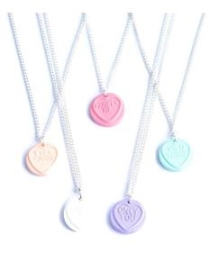 Delphi Delight's Love Heart Necklace