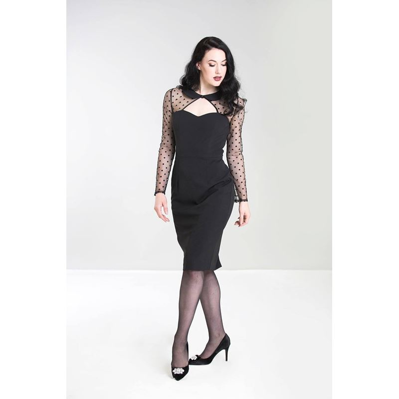84876bb90 Hell Bunny Hollywood Party Cocktail 50s Pencil Dress