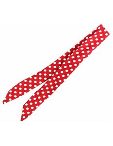 Collectif Pin-Up Red White Polka Dot Wired Bandana
