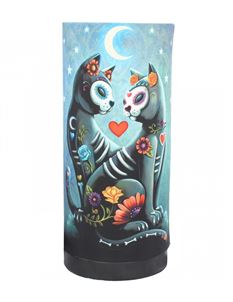 Nemesis Now Starry Night Cat Bedside Table Lamp
