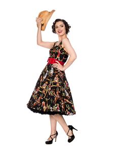 Banned Retro Howdy Partner Cowgirl 50s Style Dress