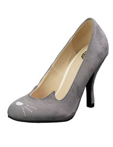 TUK Sophistakitty Bombshell Shoes Grey