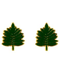 Acorn & Will Sofia Fern Earrings