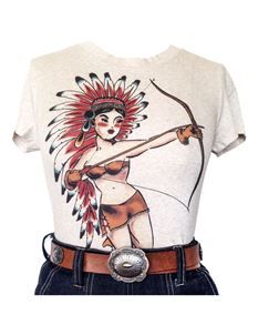 Mischief Made Native American Girl T-Shirt