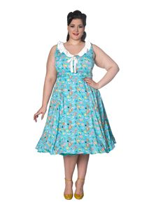 Banned Apparel Heritage Mermaid Rockabilly 1950s Dress