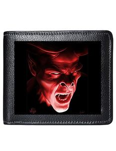 Tom Wood Fantasy 3D Lenticular Shadow Demon Mens Wallet