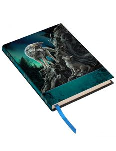 Lisa Parker Guidance Wolf Embossed Journal