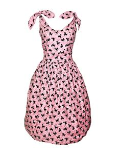 Silly Old Sea Dog 1950s Pink Poodle Dress