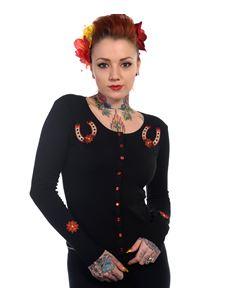 Banned Lucky Horse Shoe Cardigan
