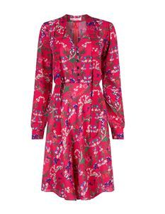 Trollied Dolly What A Scarf Dress Red Botanical