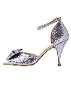 Lindy Bop Rita 40s 50s Vintage Style Glitter Party Shoes