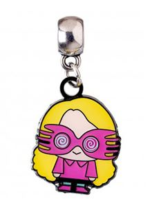Harry Potter Luna Lovegood Silver Plated Chibi Charm