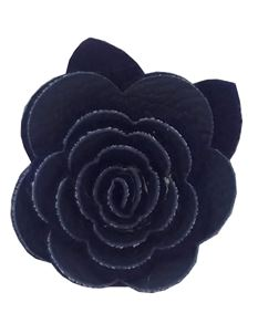 Said Lucy Navy Flower brooch