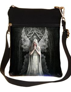 Nemesis Now Only Love Remains Angel Bag By Anne Stokes